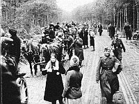 Vertreibung der Deutschen (Foto: Bundesarchiv)
