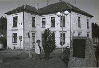 La maison de la famille Rind à Kaplice, en 1979