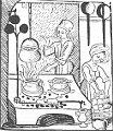 Una cocina medieval, foto: Wikipedia, free domain