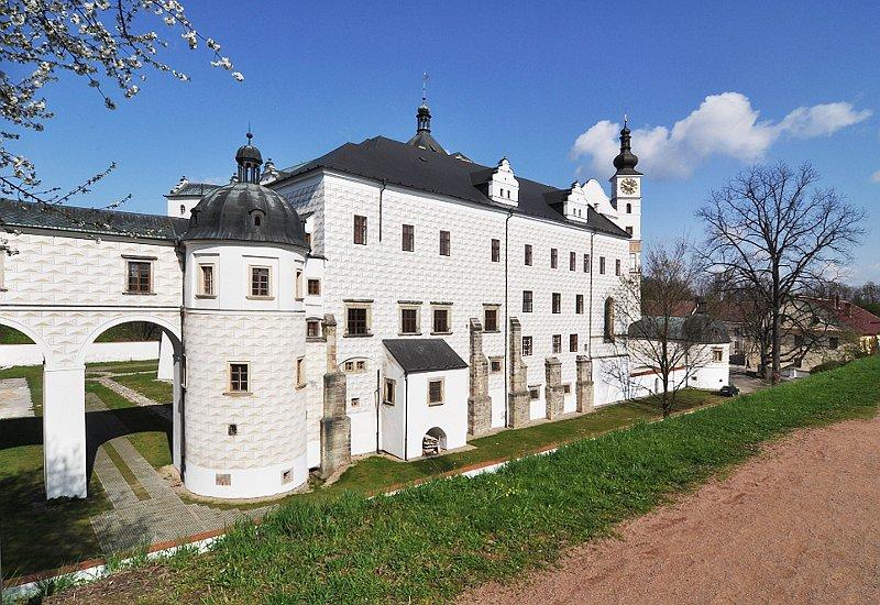 Le château de Pardubice, photo : Musée de Bohême de l'Est