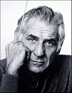 Leonard Bernstein, photo: Jack Mitchell, CC BY-SA 3.0