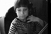 Kryštof Lecian en la edad de seis años, foto: archivo de Kryštof Lecian