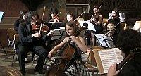 Lia Vielhaber mit einem italienischen Orchester (Foto: YouTube)