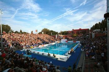 Budapest hosts european swimming championships radio prague - Margaret island budapest swimming pool ...