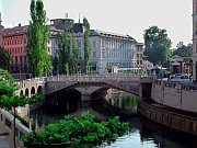 Ljubljana, Plečnik's Triple Bridge