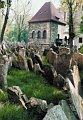 Antiguo Cementerio Judío de Praga, foto: Archivo del Museo Judío de Praga