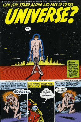 Robert Crumb - 'Stand alone', photo: www.pwf.cz Was it a big change for you, ...
