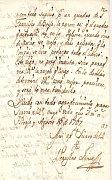 Carta de Wenceslao Link, fuente: Biblioteca Nacional, Mexico