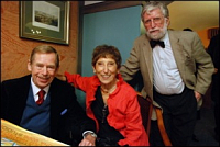 Václav Havel, Markéta Goetz-Stankiewicz, Ivan Havel, photo: archive of Markéta Goetz-Stankiewicz