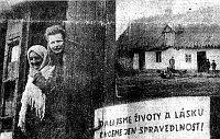 Z volyňského zpravodaje vydávaného v Žatci 1947, foto: Sdružení Čechů z Volyně a jejich přátel (www.scvp.cz)