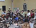 Behindertengruppe, die singt (Foto: www.bienaleprodiakonii.cz)