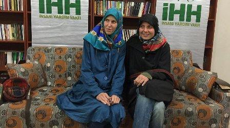 Antonie Chrástecká und Hana Humpálová (Foto: Archiv IHH - Insani Yardim Vakfi)