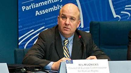 Nils Muižnieks, photo: archive of Council of Europe