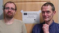 Thomas Oellermann und Werner Imhof (Foto: Milan Rudik, Archiv Collegium Bohemicum)