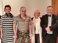 Michaela Froňková, Leszek Panek, Eva Filipi, Hynek Kmoníček, photo: archive of Hynek Kmoníček