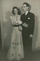 Harry Pollak avec son épouse, photo: Archives de Harry Pollak