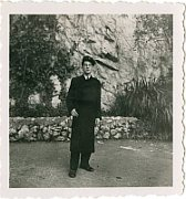 Harry Pollak v uniformě Lycea v Nimes, 1939, foto: archiv Harryho Pollaka