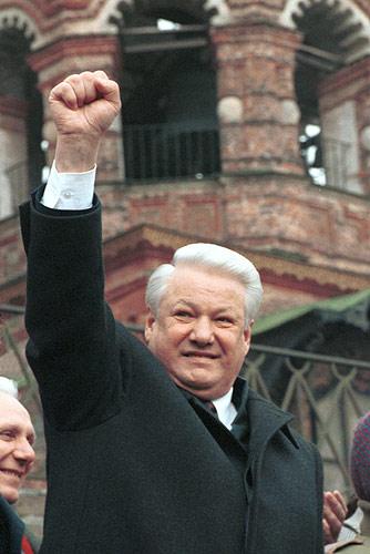 Борис Ельцин разочаровал демократов (Фото: Пресс-сервис Президента РФ, kremlin.ru)
