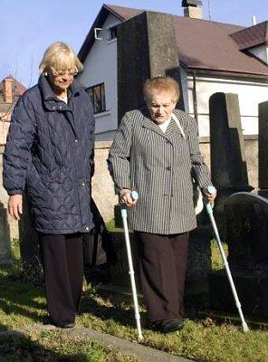 ... Isa Engelmann treffen sich nach 70 Jahren in Liberec / Reichenberg