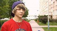 15-jähriger Knabe aus Břeclav (Foto: ČT 24)