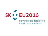 Logo slovenského předsednictví Radě Evropské unie (Zdroj: Ministerstvo zahraničných vecí a európských záležitostí Slovenskej republiky, www.mzv.sk)