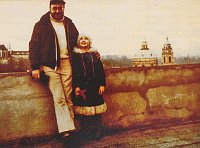 Pavel Vošický with his daughter Lenka in 1976, photo: archive of Pavel Vošický