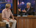Jakub Vgner dans un talk-show de Jay Leno, photo: www.nbc.com