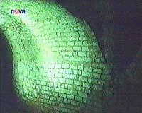Svítící chodba vJihlavě, foto: TV NOVA
