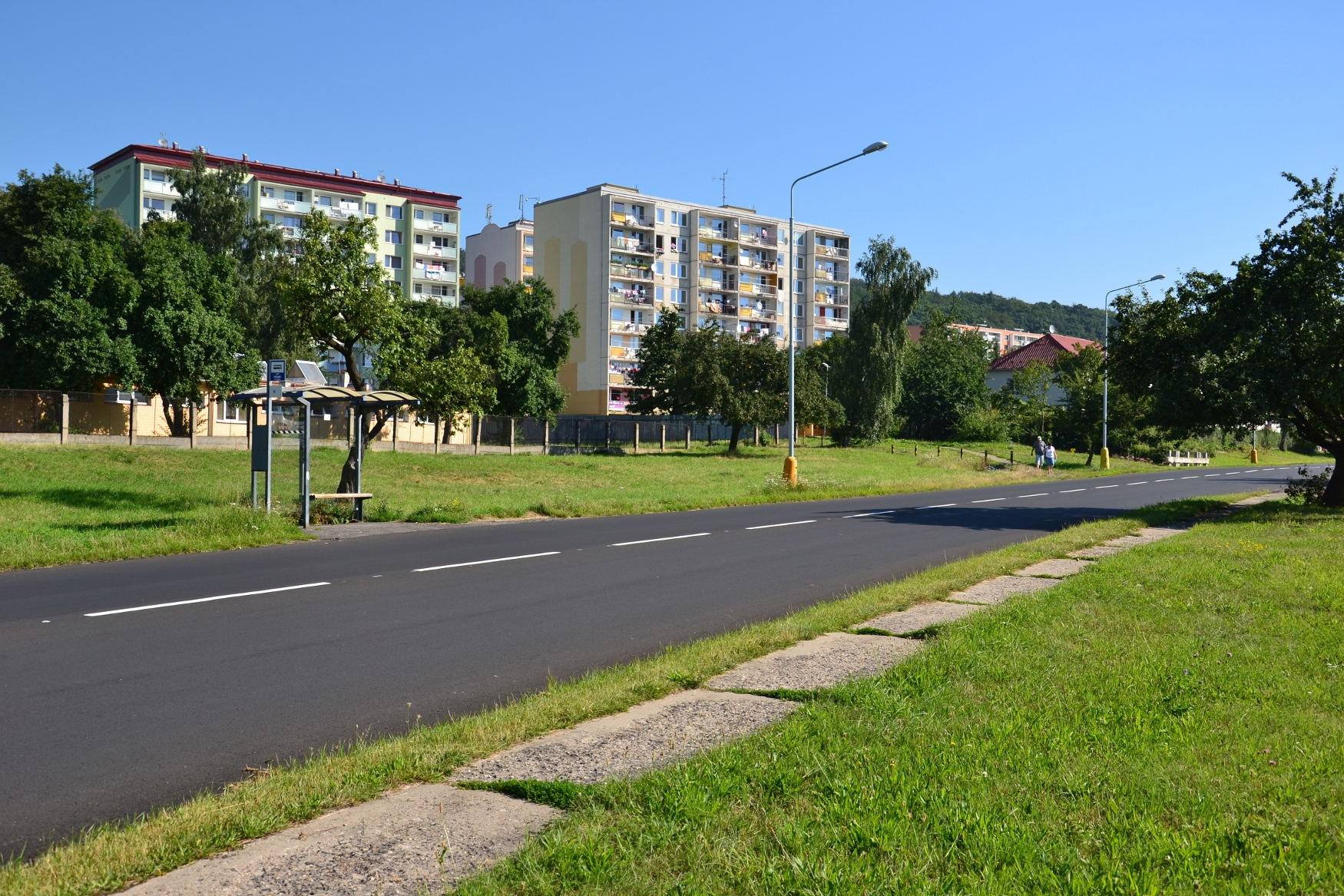 Plattenbauviertel in Litvínov (Foto: Petr Kinšt, CC BY-SA 3.0)