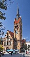 Ostrava, evangelický Kristův kostel, foto: Hons084, CC BY-SA 4.0