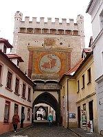 La ville de Prachatice, photo: H2k4, CC BY-SA 3.0 Unported