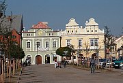 Hus square, photo: The town of Rakovník