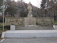 Denkmal der Roten Armee in Ústí nad Labem