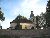 Kostel sv. Mikuláše ve Verušicích (Žlutice), foto: AHZ, CC BY-SA 3.0 Unported