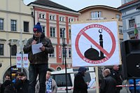 Anti-Islamic protest, Venca24, CC BY 4.0