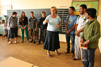 Teachers from participating Indian schools visit Czech students