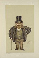 Caricature of Henri de Blowitz