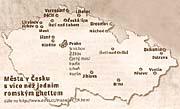 Tschechische Städte mit mehr als einem Roma-Armenviertel (Foto: Lidove noviny, 7.9.2006)