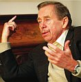 Vaclav Havel, photo: Ondrej Nemec, LN, 19.10.07