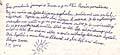 Brief der 10-jährigen Tereza an Präsident Klaus (Foto: MF Dnes 4.7.2007)