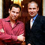 Pavel Vitek and Janis Sidovsky, photo: Tomas Nosil, Nedelni svet