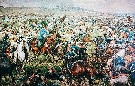 Schlacht bei Königgrätz (Quelle: Public Domain)