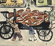 Helga Weissová-Hošková - 'Bread transported in a hearse' (1942)