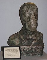 'Self-bust' of Jára Cimrman, photo: Stanislav Jelen, CC BY 3.0 Unported
