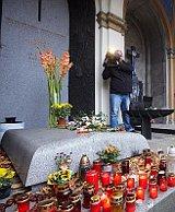 La tumba del ex presidente Havel, foto ilustrativa: Archivo de la Biblioteca Václav Havel