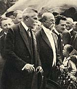 Karel Kramář and Tomáš Garrigue Masaryk