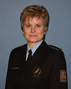 Ivana Ježková, photo: archive of Czech Police