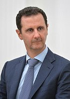 Bachar el-Assad, photo : Archives d'Administration du président de Russie, CC BY 4.0