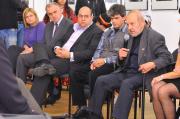 Karel Holomek (vpravo) na setkání s kanadskou guvernérkou (Foto: www.combatcamera.ca)