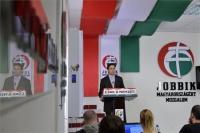 Politik extrémně pravicové strany Hnutí za lepší Maďarsko neboli Jobbik Márton Gyöngyösi (Foto: Web strany Jobbik)